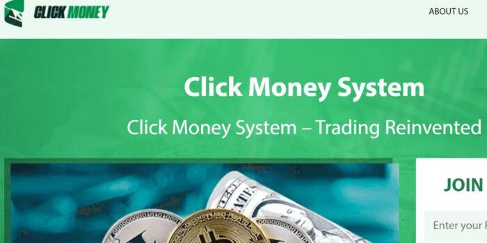 Click Money System Scam