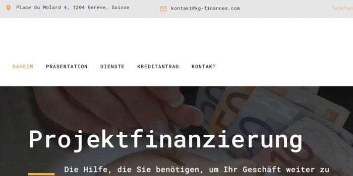 Kg Finances Review