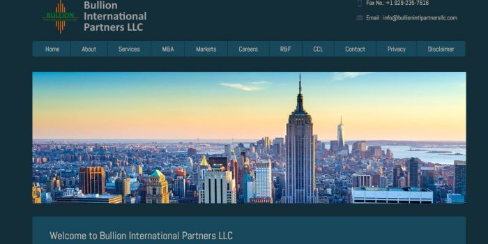 Bullion International Partners LLC Review