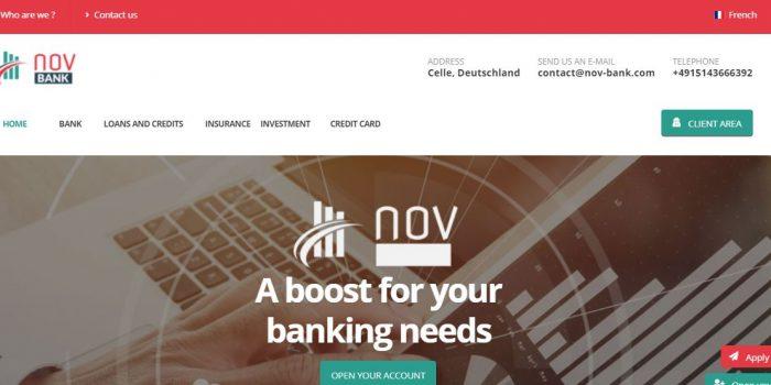 NOV BANK Review