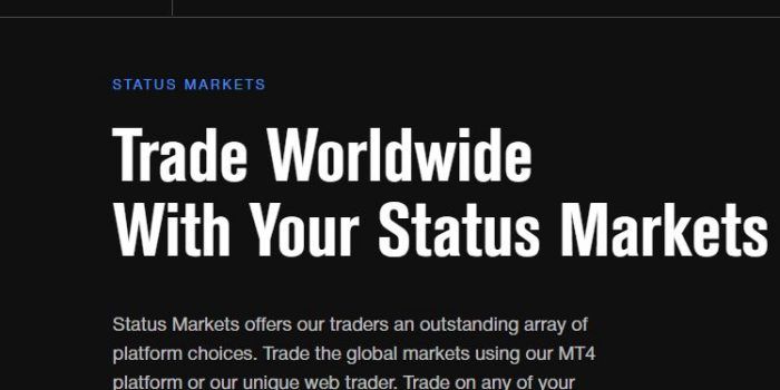 Status Markets Review