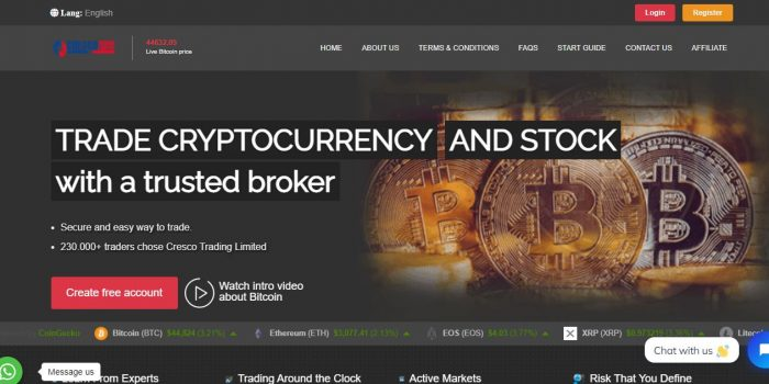 Cresco Trading Limited Review
