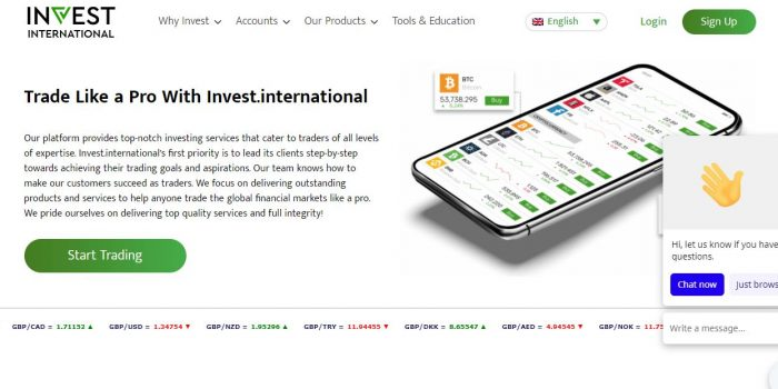 Invest International Review