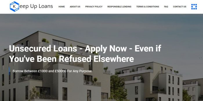 Keep Up Loans Review