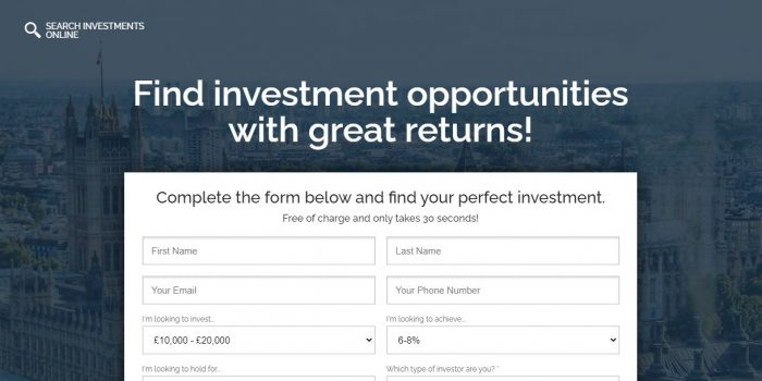 Search Investments Online Review